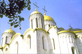 Vladimir, cathedral of the Assumption, GOLDEN RING, RUSSIA